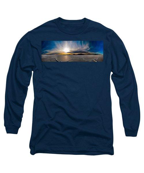 Salt Flats Sunset Long Sleeve T-Shirt