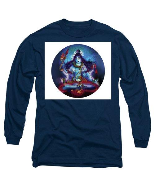 Samadhi Shiva Long Sleeve T-Shirt