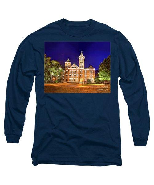 Samford Hall At Night Long Sleeve T-Shirt