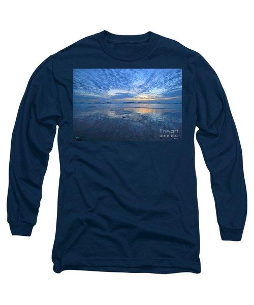 San Elijo Blue Long Sleeve T-Shirt
