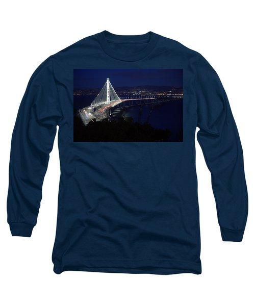 San Francisco Oakland Bay Bridge Long Sleeve T-Shirt