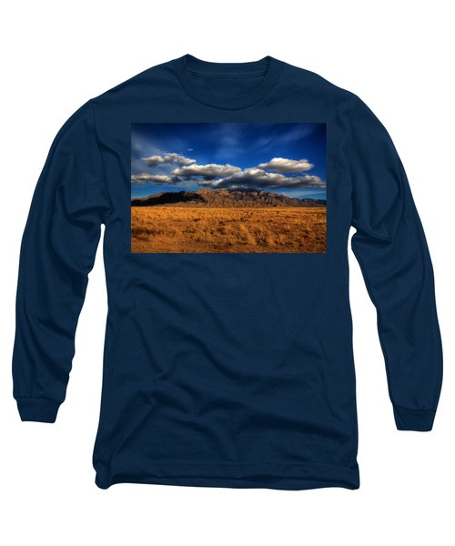 Sandia Crest In Late Afternoon Light Long Sleeve T-Shirt