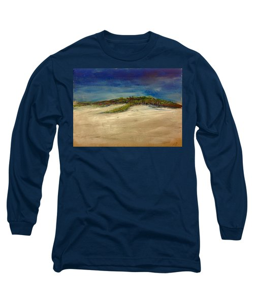 Sandilands Beach - Overcast Day Long Sleeve T-Shirt