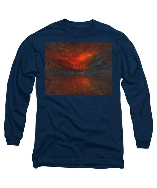 Sapphire Sunset Long Sleeve T-Shirt