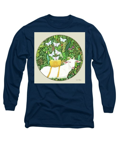 Scapegoat Button Long Sleeve T-Shirt by Lise Winne