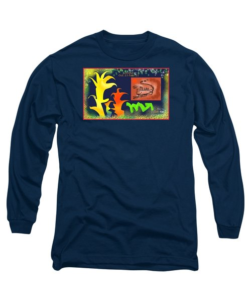 Long Sleeve T-Shirt featuring the digital art Scorpio by The Art of Alice Terrill