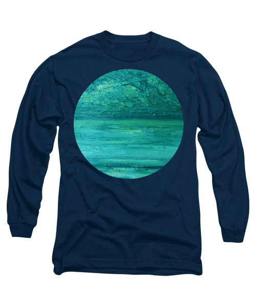Sea Blue Long Sleeve T-Shirt