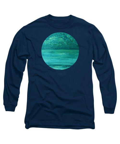 Sea Blue Long Sleeve T-Shirt