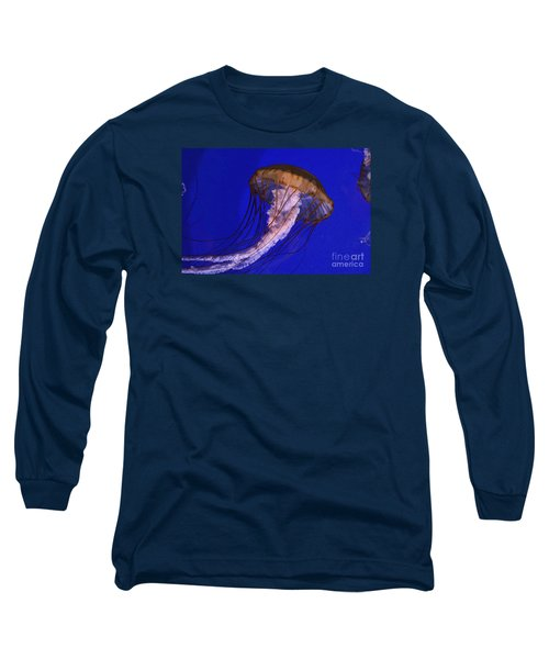Long Sleeve T-Shirt featuring the photograph Sea Jelly by Jeanette French