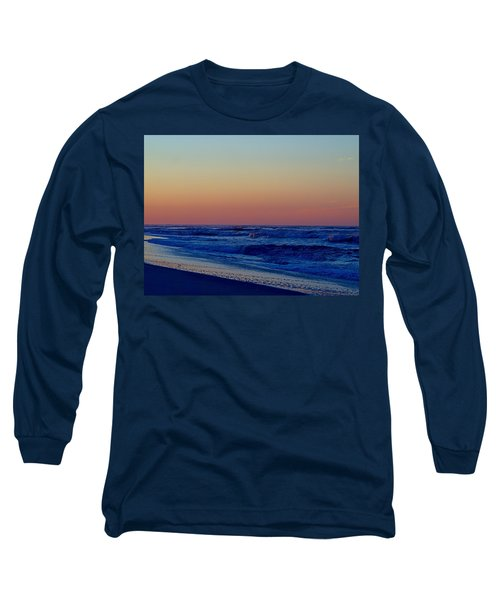 Long Sleeve T-Shirt featuring the photograph Sea View by  Newwwman