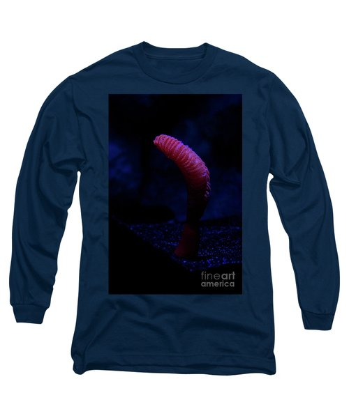 Sea Worm Long Sleeve T-Shirt by Xn Tyler