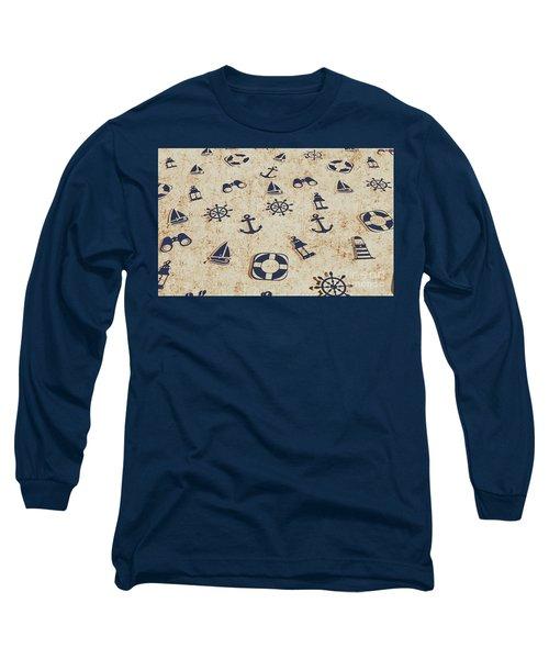 Seafaring Antiques Long Sleeve T-Shirt