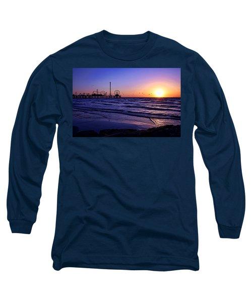 Seagull Sunrise Long Sleeve T-Shirt