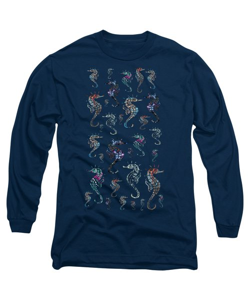 Seahorse Social Long Sleeve T-Shirt