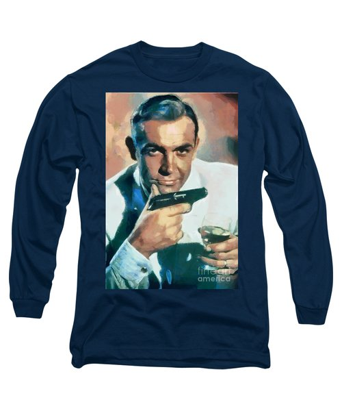 Sean Connery Long Sleeve T-Shirt