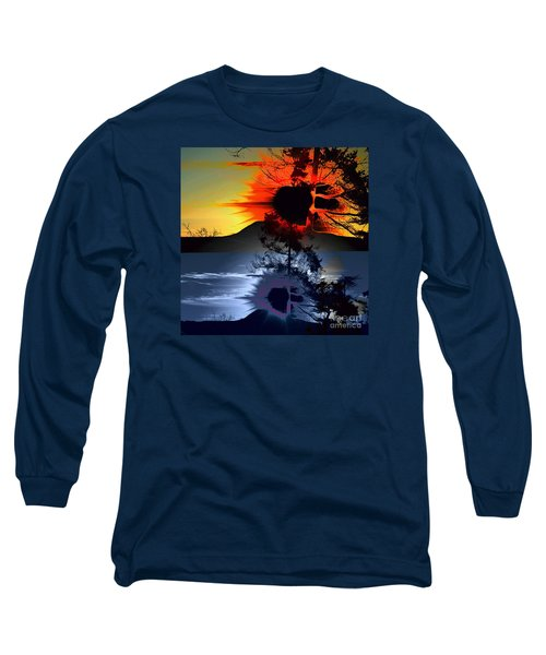 Sechelt Tree Sun And Moon Long Sleeve T-Shirt