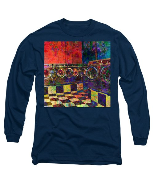 Secret Life Of Laundromats Long Sleeve T-Shirt