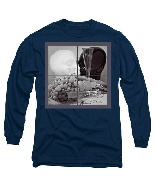 Long Sleeve T-Shirt featuring the photograph Sections by Elf Evans