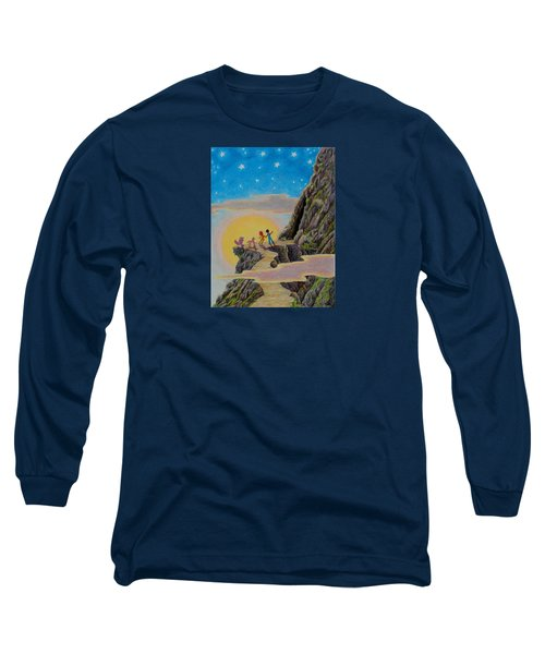 Seeking The Dragons Vast Treasure Long Sleeve T-Shirt by Matt Konar