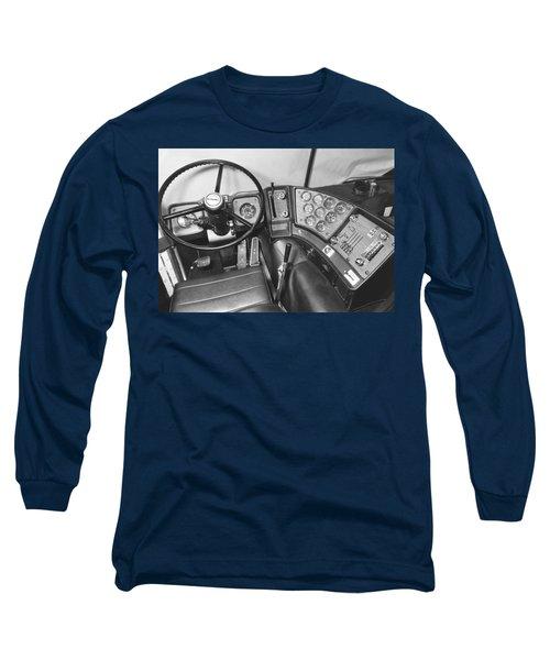 Semi-trailer Cab Interior Long Sleeve T-Shirt
