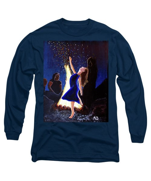 Setting On Fire Long Sleeve T-Shirt