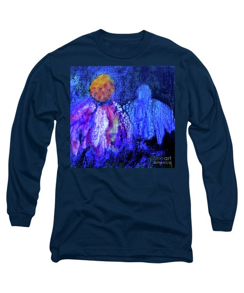 Shadow Abstract Bloom Long Sleeve T-Shirt