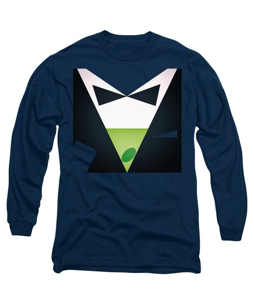 Shaken, Not Stirred Long Sleeve T-Shirt by Jirka Svetlik