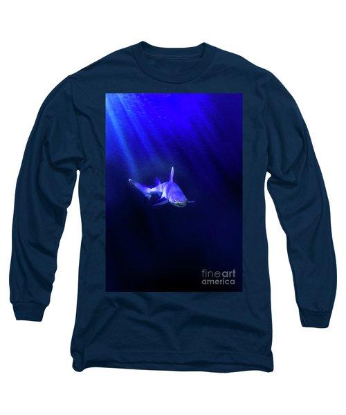 Long Sleeve T-Shirt featuring the photograph Shark by Jill Battaglia