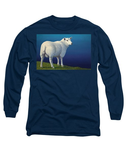 Sheep At The Edge Long Sleeve T-Shirt