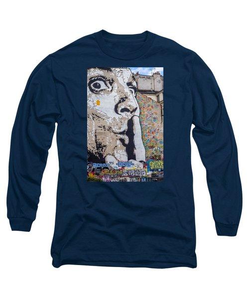 Shhhh Long Sleeve T-Shirt