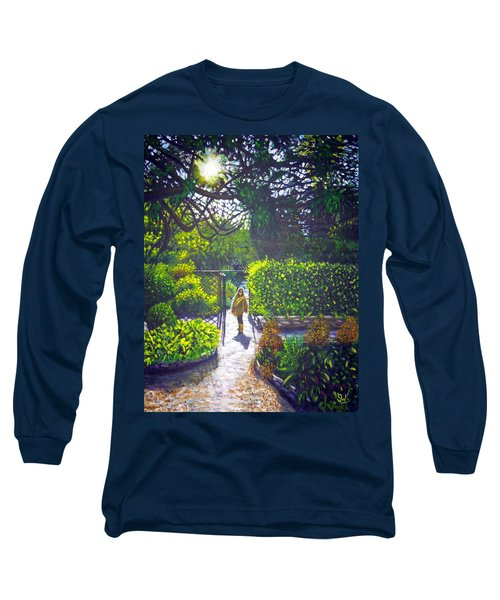 Shirley At Chalice Well Long Sleeve T-Shirt