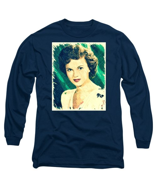 Shirley Temple By John Springfield Long Sleeve T-Shirt by John Springfield