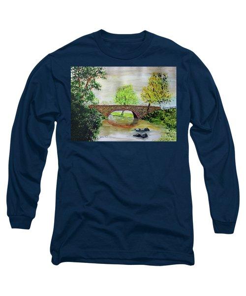 Shortcut Bridge Long Sleeve T-Shirt by Jack G Brauer