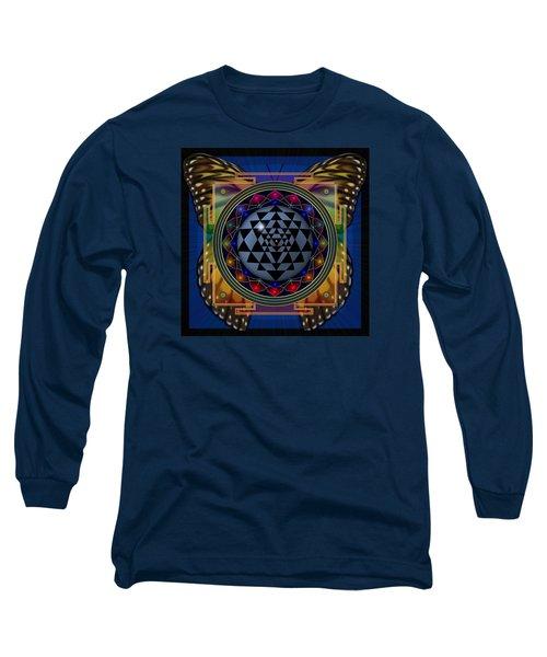Shri Yantra 1 Long Sleeve T-Shirt