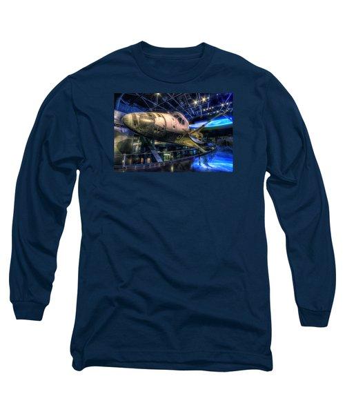Shuttle Atlantis Long Sleeve T-Shirt