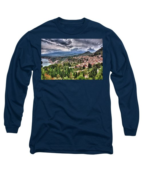 Sicilian Coast Long Sleeve T-Shirt