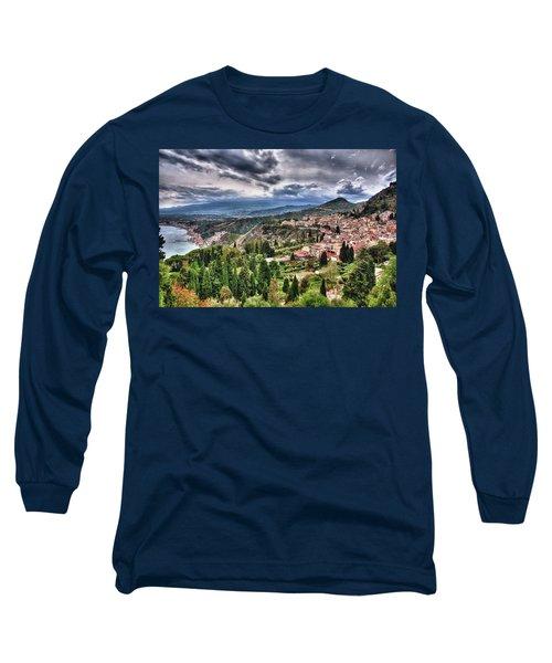 Sicilian Coast Long Sleeve T-Shirt