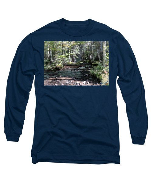 Side Brook Long Sleeve T-Shirt by John Selmer Sr