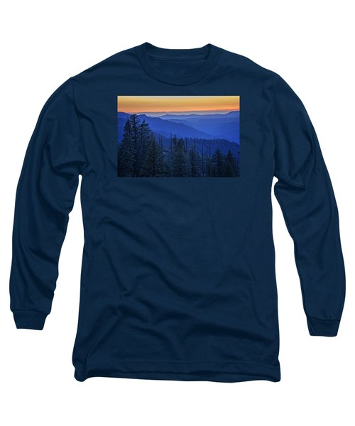 Sierra Fire Long Sleeve T-Shirt by Rick Berk