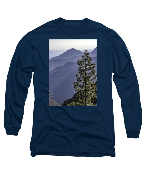 Long Sleeve T-Shirt featuring the photograph Sierra Nevada Foothills by Steven Sparks