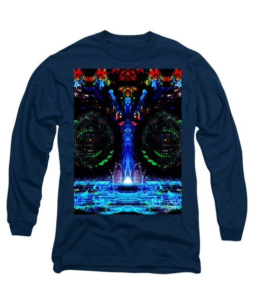 Silent Waterfall Long Sleeve T-Shirt