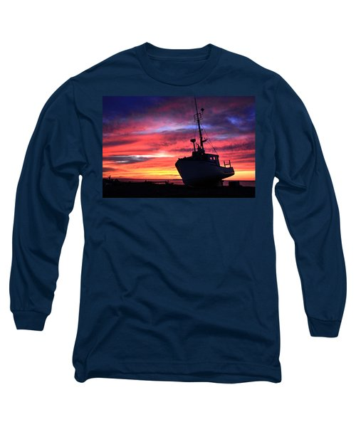 Silhouette Sunset Long Sleeve T-Shirt