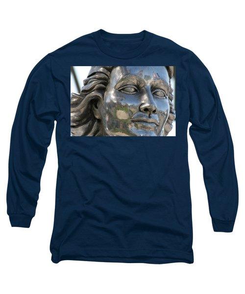 Silver Delores Del Rio Long Sleeve T-Shirt