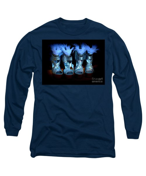 Silver Slippers Long Sleeve T-Shirt