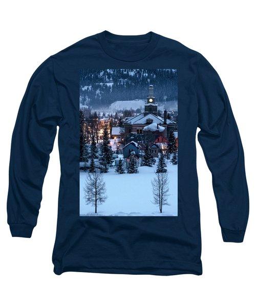 Silverton At Night Long Sleeve T-Shirt