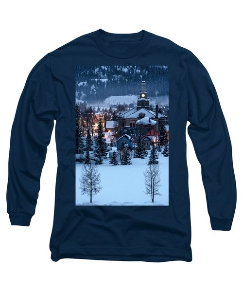 Silverton At Night Long Sleeve T-Shirt
