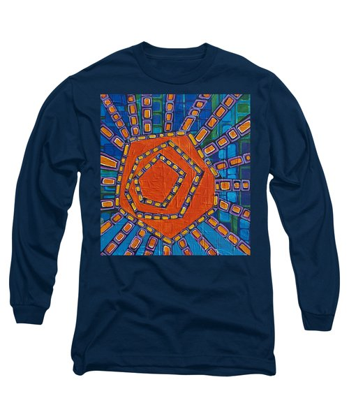 Simple Sunset Long Sleeve T-Shirt