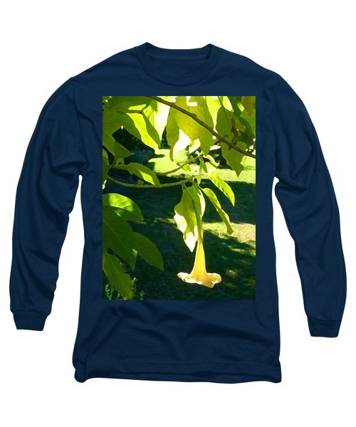 Single Angel's Trumpet Long Sleeve T-Shirt