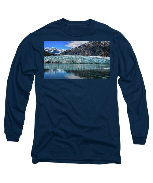 Size Perspective No Margerie Glacier Long Sleeve T-Shirt