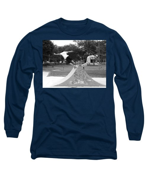 Skate Ballet Long Sleeve T-Shirt by Beto Machado